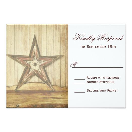rustic_country_western_wood_star_wedding_invitations_rsvp_cards