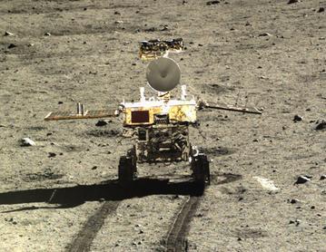 the rover Yutu